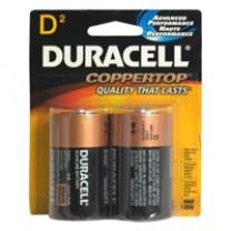 D Duracell Coppertop Batteries