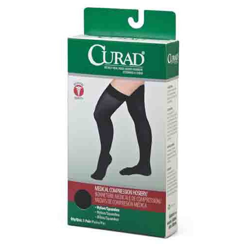 CURAD Thigh-High Compression Hosiery