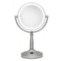 Zadro Cordless Dual-Sided LED Lighted Vanity Mirror, 10X/1X