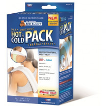 The Original Bed Buddy Hot and Cold Pack - White