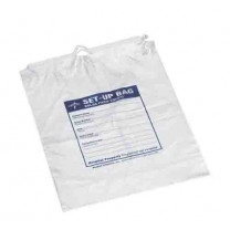 Medline Respiratory Patient Clear Set-up Bag