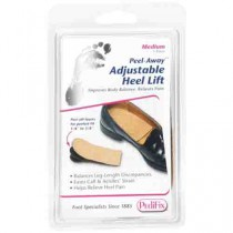 Peel-Away No Fastening Heel Lift