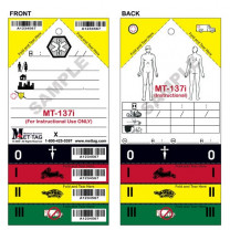 MT-137i Training Tag Front and Back Example