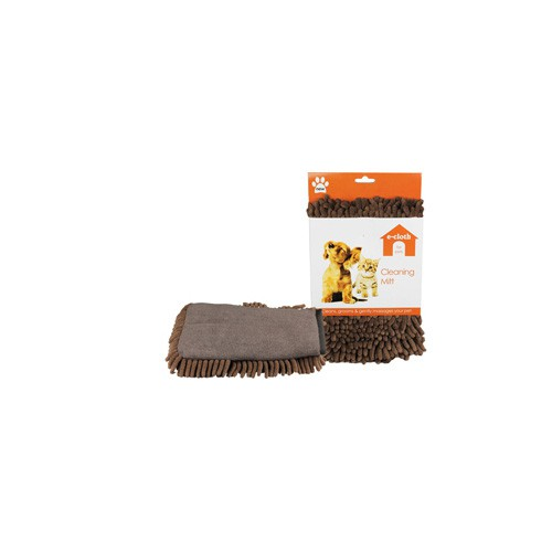 E Cloth E Pet Cleaning and Grooming Mitt