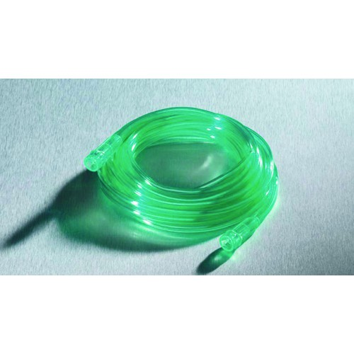 Green oxygen supply tubing grn