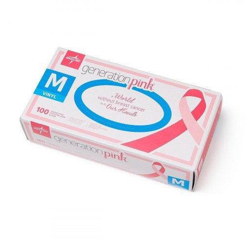 Generation Pink 3G Synthetic Exam Gloves, Latex Free