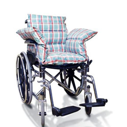 Wheelchair Plaid Comfort Seat Cushion