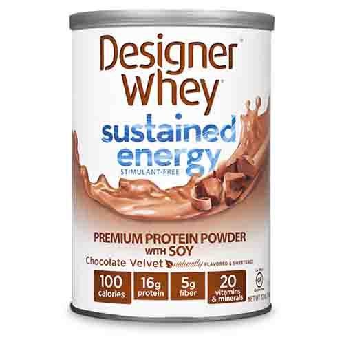 Designer Whey Sustained Energy Protein Powder