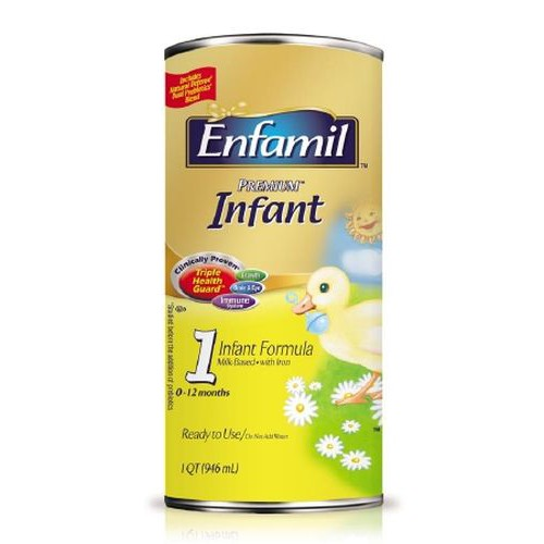 Enfamil Lipil Milk-Based with Iron Ready to Use - 32 oz