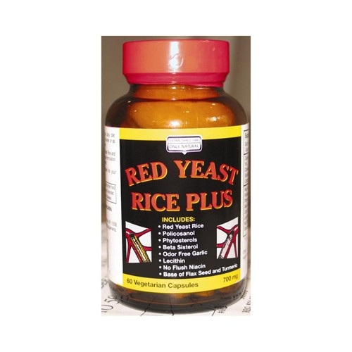 Only Natural Red Yeast Rice Plus
