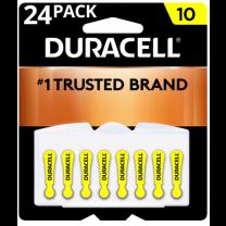 10 Duracell Coppertop Batteries