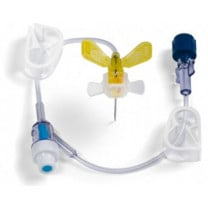 MiniLoc Safety Winged Infusion Set with Y-injection Site