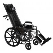 ProBasics Full Reclining Wheelchair with Padded Elevating Legrests