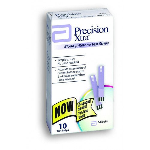 Precision Xtra Blood Ketone Test Strips by Abbott Diabetes Care