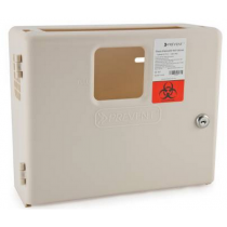 Wall Cabinet for Prevent Sharps Disposal Containers