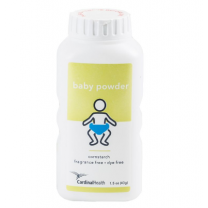 Cardinal Health Cornstarch Baby Powder 1.5 oz. Bottle