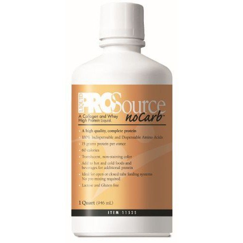 ProSource NoCarb Liquid Protein Supplement Unflavored - 32 oz