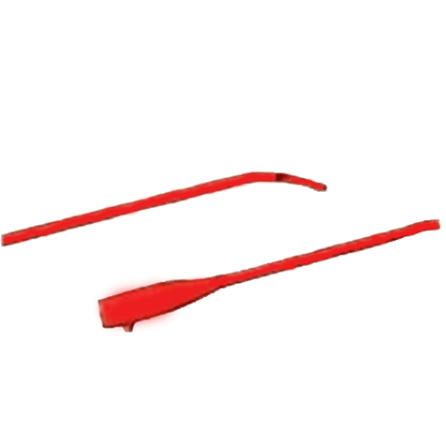 Bard Coude Red Rubber Catheter