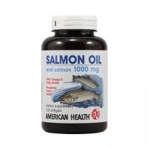 American Health Salmon Oil Dietary Supplement 1000 mg