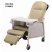 Doe Skin Geri Chair Recliner