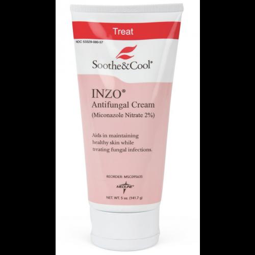 Soothe & Cool INZO Antifungal Cream - 5 oz. Squeeze Bottle