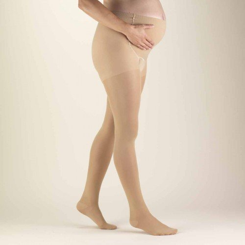 TRUFORM Women's TruSheer Maternity Compression Pantyhose 20-30 mmHg