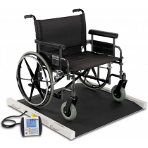 Bariatric Heavy Duty Portable Wheelchair Scale