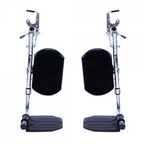 Invacare Wheelchair SwingAway Elevating Legrest with COMPOSITE Footplates