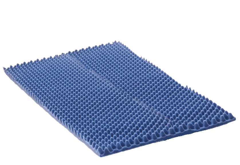 2 Inch Queen Therapad Egg Crate Foam Topper | Vitality Medical