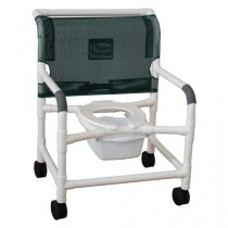 MJM PVC Bariatric Shower Chair