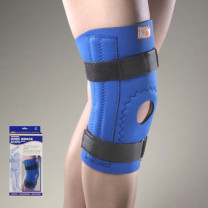 OTC Neoprene Knee Support w/Hor-Shu Pad | Spiral Stays or Hinged Bars