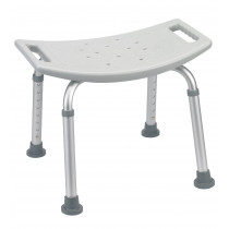 Deluxe KD Bath Shower Bench without Back by Drive