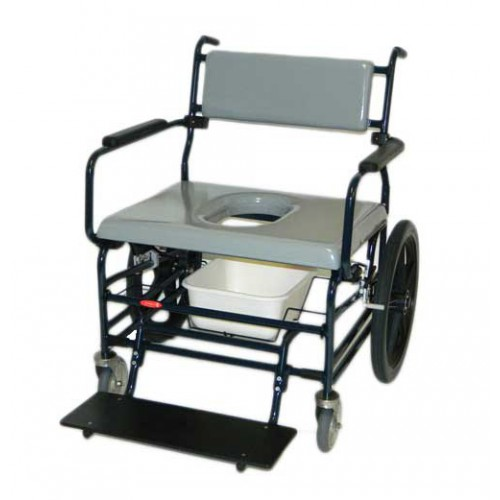 Activeaid 720 Bariatric Shower Chair w/ Standard Commode Seat