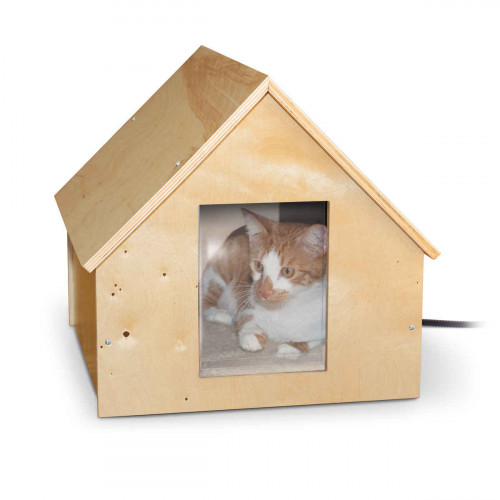 K&H Birchwood Manor Kitty House - Heated & Unheated