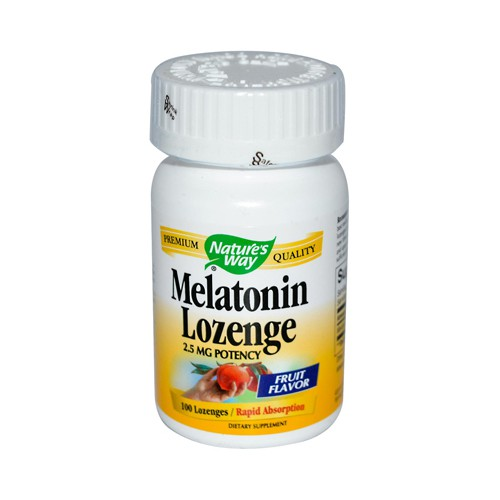 Natures Way Melatonin Lozenge Fruit 2.5 mg