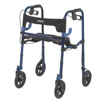 "Clever Lite Deluxe Rollator Walker with 8"" Casters by Drive"