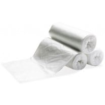 Medi-Pak Clear Trash Bag - 33 Gallon