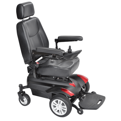 Titan Front Wheel Drive Power Wheelchair