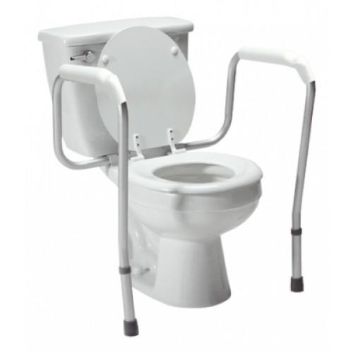 Lumex Versaframe Toilet Safety Rail, Adjustable Height