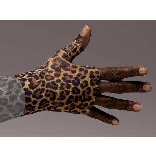 LympheDivas Leo Leopard Compression Gauntlet 20-30 mmHg