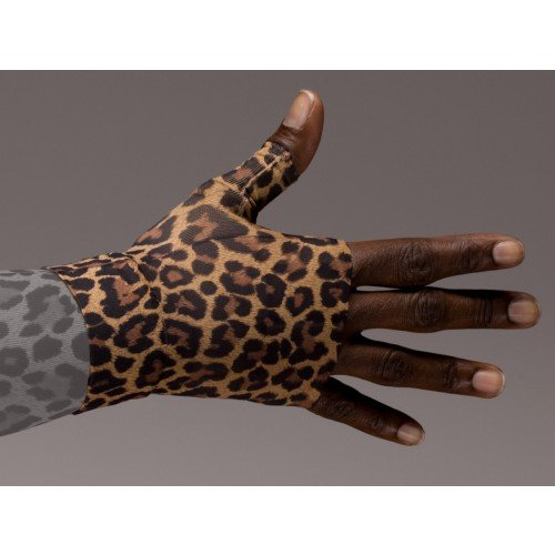 LympheDivas Leo Leopard Compression Gauntlet 30-40 mmHg