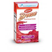 BOOST BREEZE Fruit Nutritional Drinks Wild Berry - 8 oz
