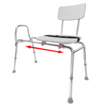 Eagle Health Sliding Transfer Bench with Cut Out