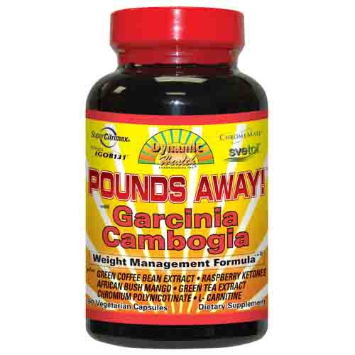 Pounds Away Garcinia Cambogia Diet Aid