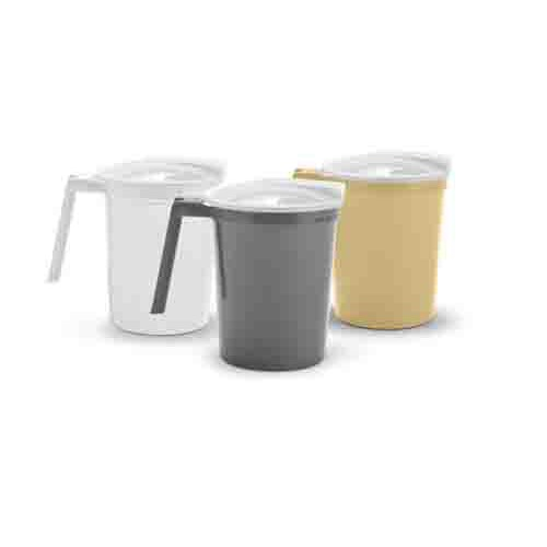 Non-Insulated Plastic Pitcher with Lid