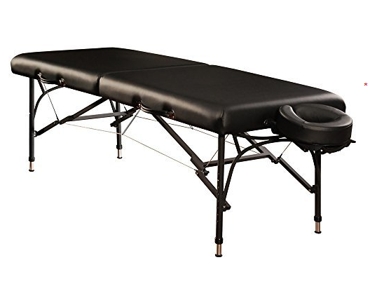 Mt massage tables violet light weight aluminum portable massage table package 22751 22752 - How much is a massage table ...