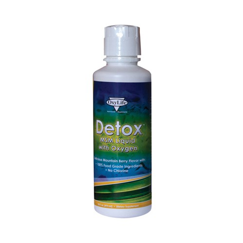 Oxylife Products Detox MSM Liquid with Oxygen
