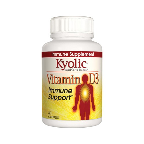 Kyolic Vitamin D3 Immune Support Dietary Supplement