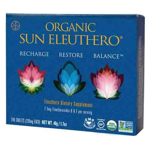 Organic Sun Eleuthero Energy Supplement