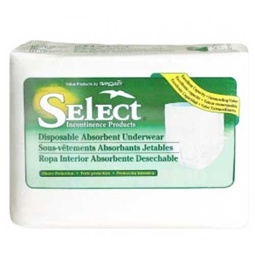 Tranquility Select Disposable Absorbent Underwear